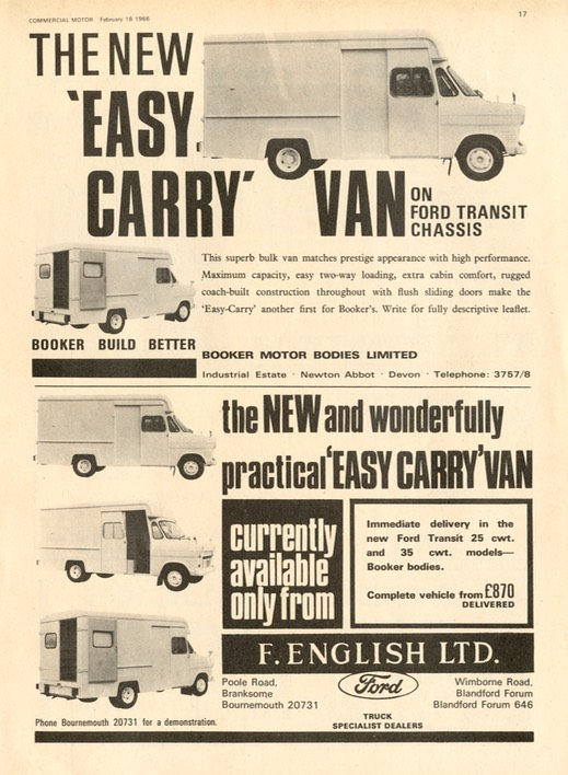 Comm Motor Advert Feb 66