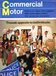 Comm Motor Front Cover Jan1970