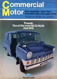 Comm Motor FrontCover Apr 70