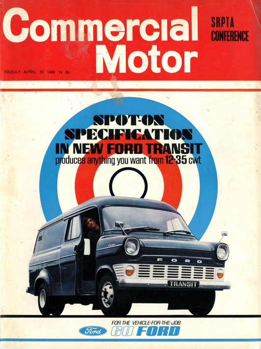 Comm Motor FrontCover Apr 66