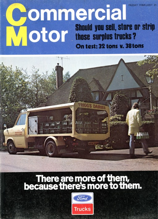 Commercial Motor Front Cover Feb75