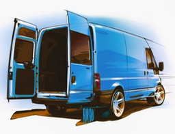 Design Rendering-Van Rear