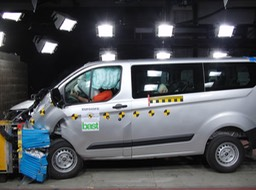 All-New Transit Custom is First Van to Achieve Euro NCAP 5-Star Rating; Tourneo Custom People Mover Also 5-Star Rated