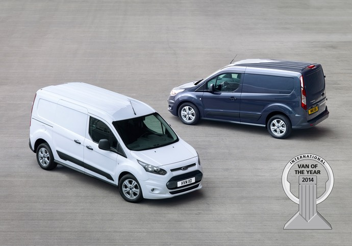 New Ford Transit Connect Wins 'International Van of the Year 2014'; Ford is First Single Manufacturer to Win Twice in a Row