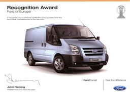 MK7 Recognition Award