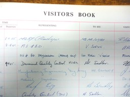 Warley_Visitors Book 03